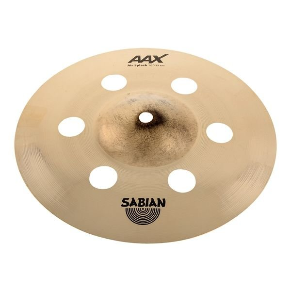 "Sabian Sabian AAX 10"" Air Splash Cymbal Brilliant"
