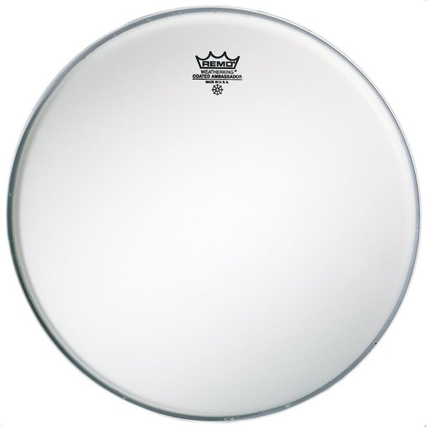 "Remo Remo Coated Ambassador 22"" Diameter Bass Drumhead"