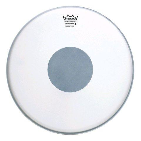 "Remo Coated Emperor x 12"" Diameter Batter Drumhead - Black Dot Bottom"