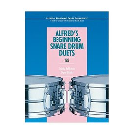 Alfred Publishing Alfred's Beginning Snare Drum Duets by Sandy Feldstein and Dave Black; Book