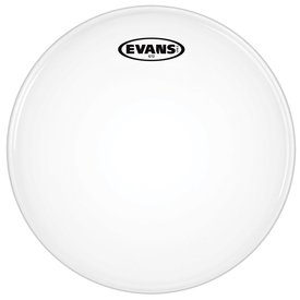 """Evans Evans G12 Coated White 8"""" Drumhead"""