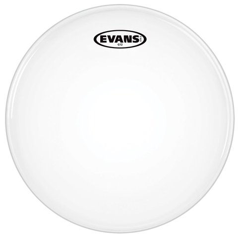 "Evans G12 Coated White 8"" Drumhead"