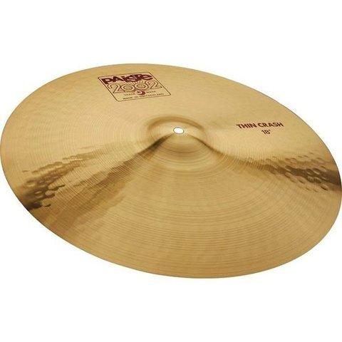 "Paiste 2002 Classic 18"" Thin Crash Cymbal"