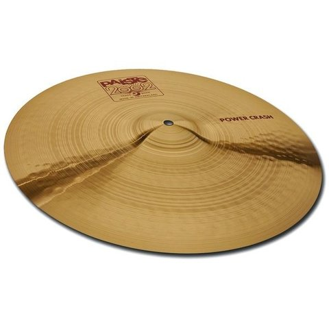 "Paiste 2002 Classic 16"" Power Crash Cymbal"