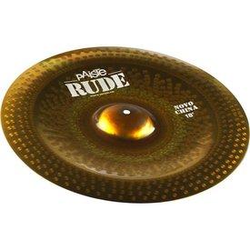 """Paiste Paiste Rude 18"""" Novo China Cymbal"""