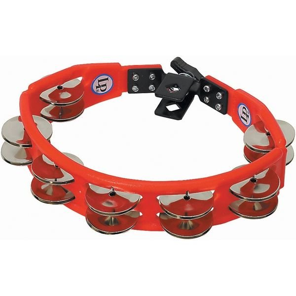 LP LP Cyclops Mountable Tambourine, Red