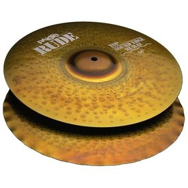 "Paiste Paiste Rude 14"" Sound Edge Hi Hat Cymbals"
