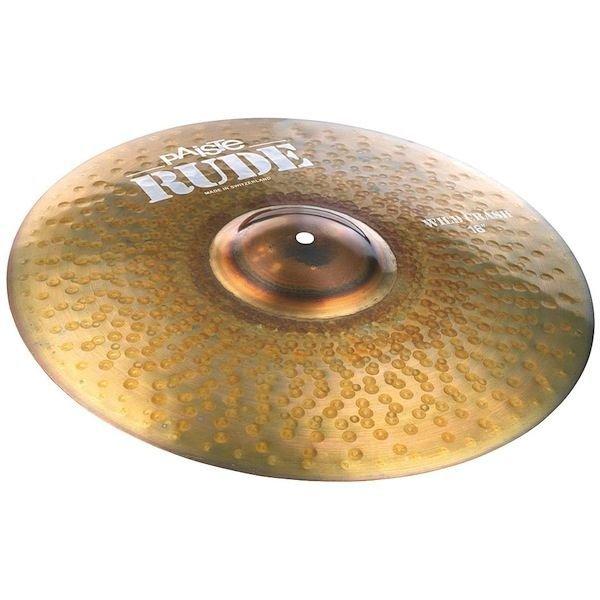 "Paiste Paiste Rude 18"" Wild Crash Cymbal"