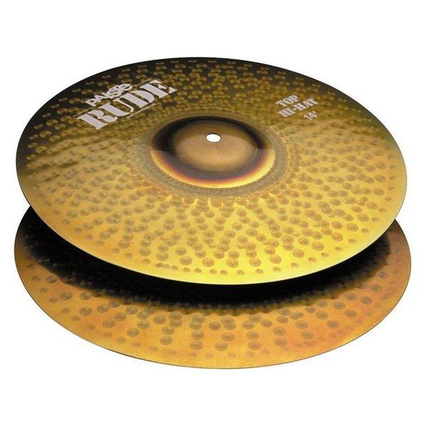 """Paiste Paiste Rude 14"""" Hi Hat Cymbals"""