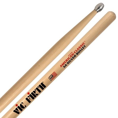 Vic Firth American Classic - 5A Silver Bullet - Aluminum Tip Drumsticks