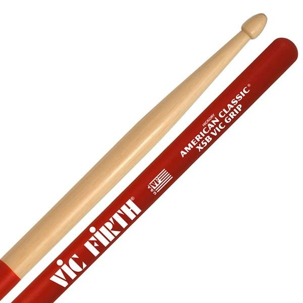 Vic Firth Vic Firth American Classic - Extreme 5B Drumsticks with Vic Grip