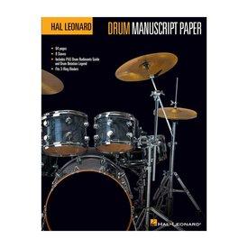 Hal Leonard Hal Leonard Drum Manuscript Paper