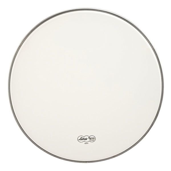 """Ludwig Ludwig Weather Master Smooth White Heavy 18"""" Bass Drumhead"""