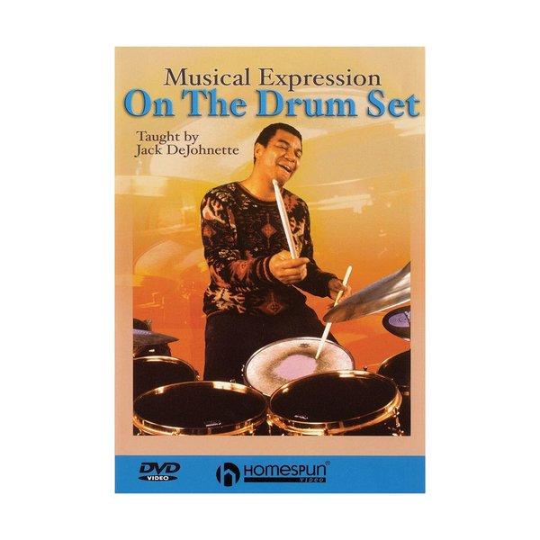 Hal Leonard Jack DeJohnette: Musical Expression on the Drum Set DVD