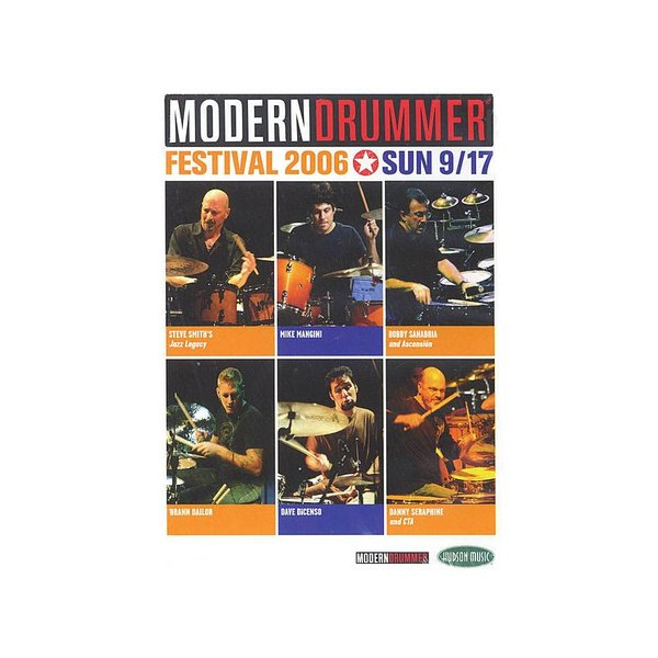 Hal Leonard Modern Drummer Festival 2006 Saturday & Sunday DVD Set
