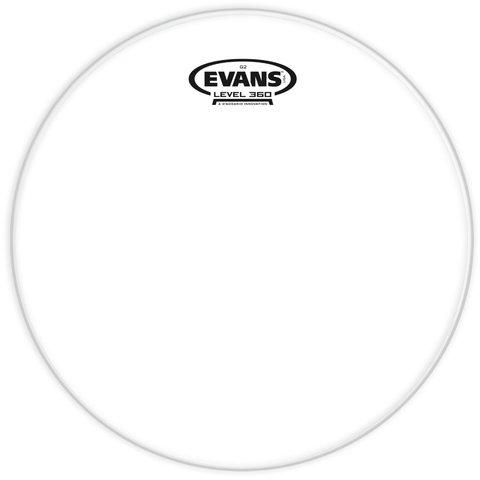 """Evans Genera G2 Clear 12"""" Tom Drumhead"""