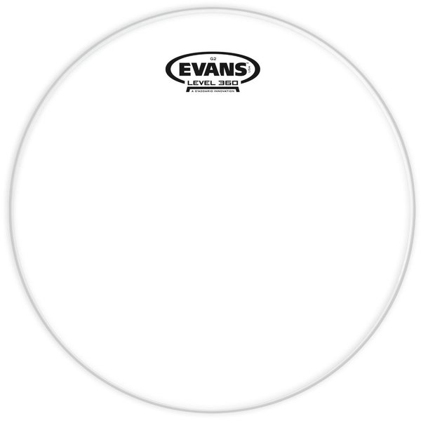 """Evans Evans Genera G2 Clear 12"""" Tom Drumhead"""