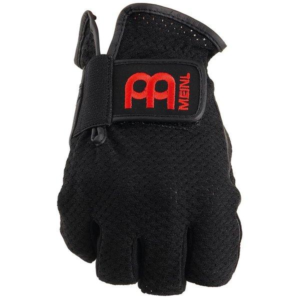 Meinl Drummer Gloves, finger-less, black, large, pair