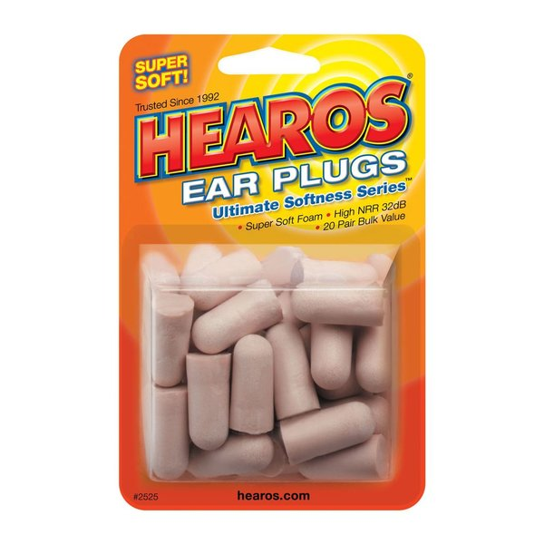 Hearos Ear Filters Value Pack; 20 Pairs