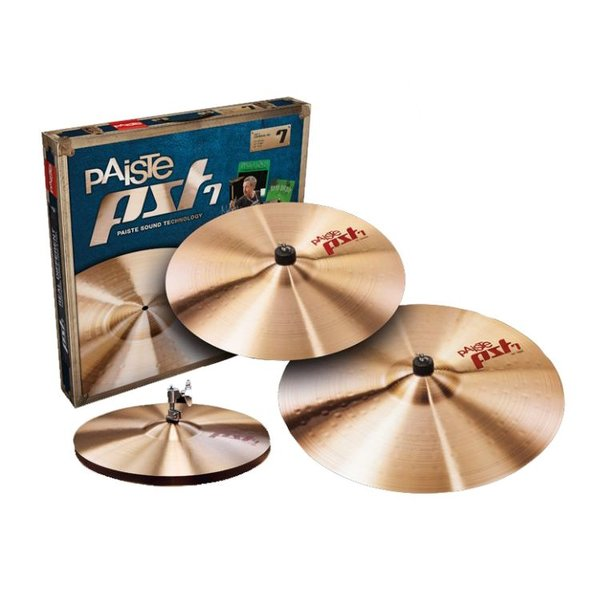 "Paiste Paiste PST7 Series Medium/Universal Cymbal Set (14"", 16"", 20"")"