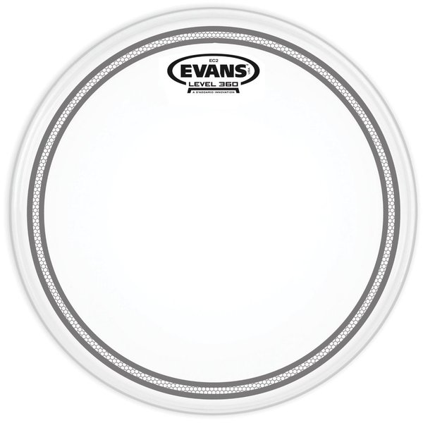 "Evans Evans EC2 Coated SST 15"" Tom Drumhead"