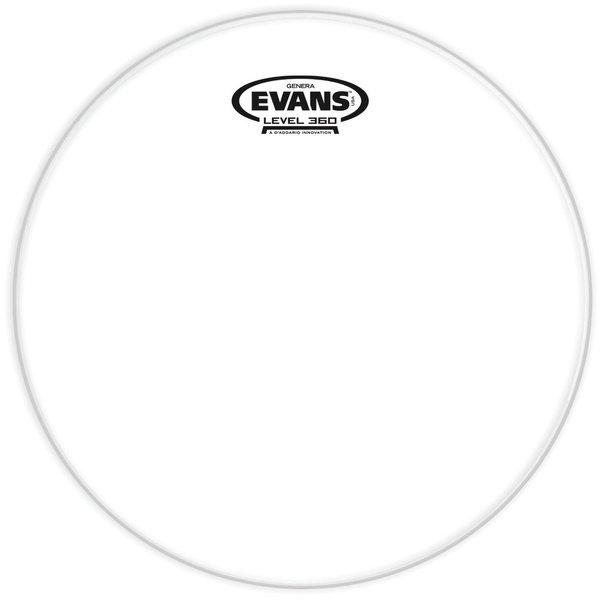 """Evans Evans Genera Resonant Clear 12"""" Tom Drumhead"""