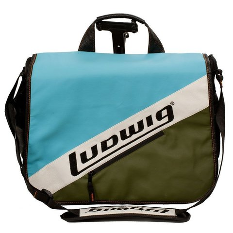 Ludwig Atlas Classic Laptop Bag w/Classic Blue / Olive Style