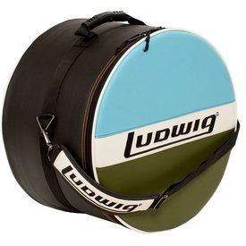 """Ludwig Ludwig Atlas Classic 14""""x14"""" Floor Tom Bag with Classic Blue/Olive Style"""