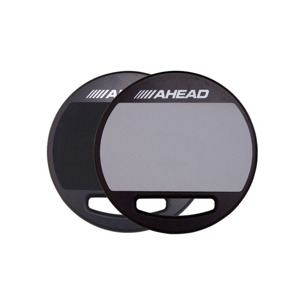 "Ahead Ahead 14"" Double Sided Pad (Soft & Hard Rubber)"