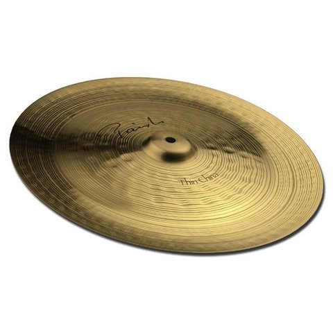 "Paiste Signature 18"" Thin China Cymbal"