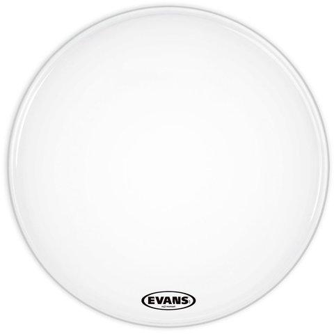 """Evans EQ3 Resonant Smooth White 24"""" No Port Bass Drumhead"""
