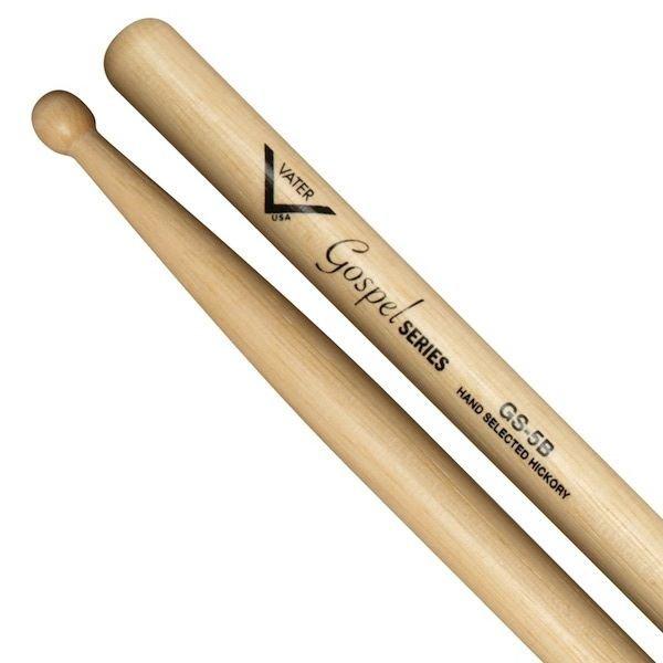 Vater Vater Gospel 5B Wood Tip Drumsticks