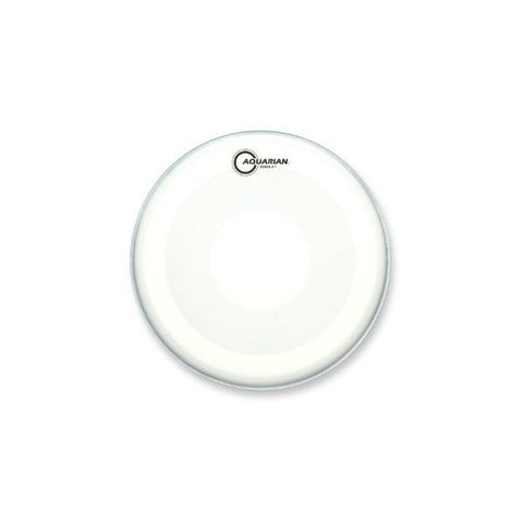 "Aquarian Studio-X Series Texture Coated 14"" Drumhead with Power Dot Underside"