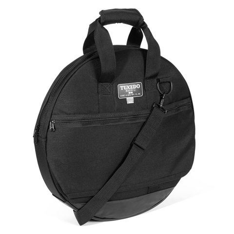 "Humes and Berg 24"" Tuxedo Padded Black Cymbal Bag"