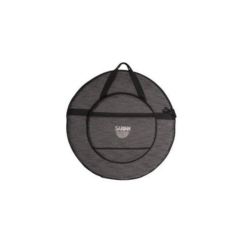 "Sabian Classic 24"" Cymbal Bag; Heathered Black"