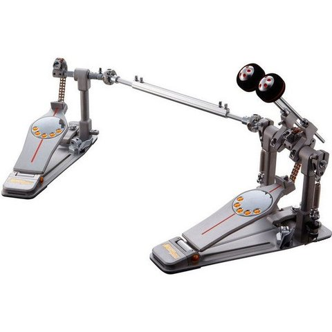 Pearl Demon Chain Drive Series Double Bass Drum Pedal with Case