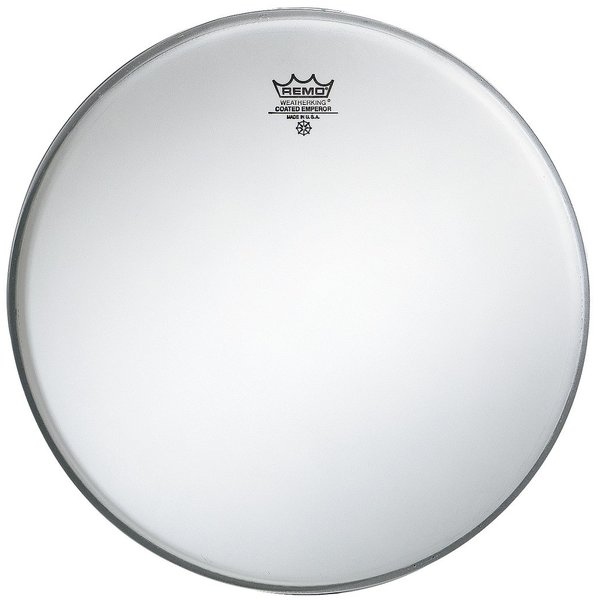 "Remo Remo Coated Emperor 15"" Diameter Batter Drumhead"