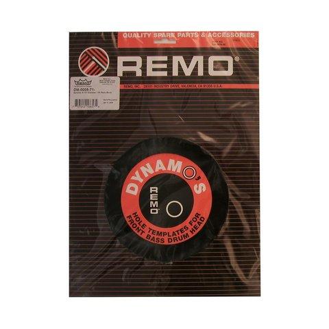 """Remo Dynamo 5-1/2"""" Diameter Pack - Black"""