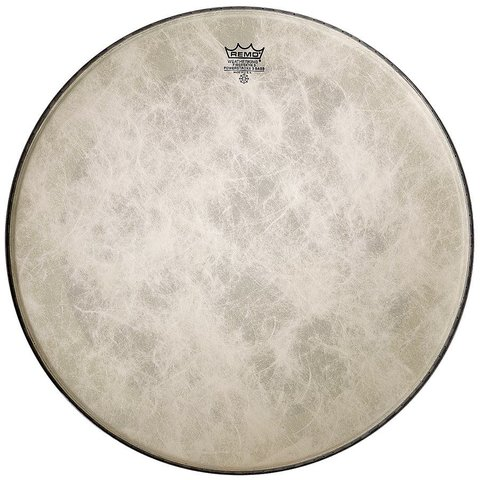 "Remo Fiberskyn 3 Powerstroke 3 Ambassador 24"" Diameter Bass Drumhead"