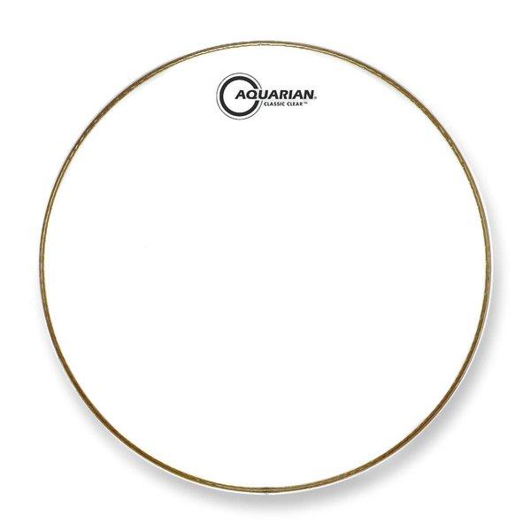 """Aquarian Aquarian Classic Clear Series 12"""" Drumhead - White"""