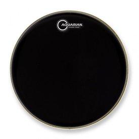 """Aquarian Aquarian Classic Clear Series 12"""" Drumhead - Black"""