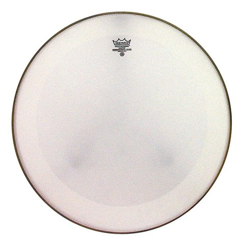 "Remo Coated Powerstroke 4 - 24"" Diameter Bass Drumhead with Falam Patch"