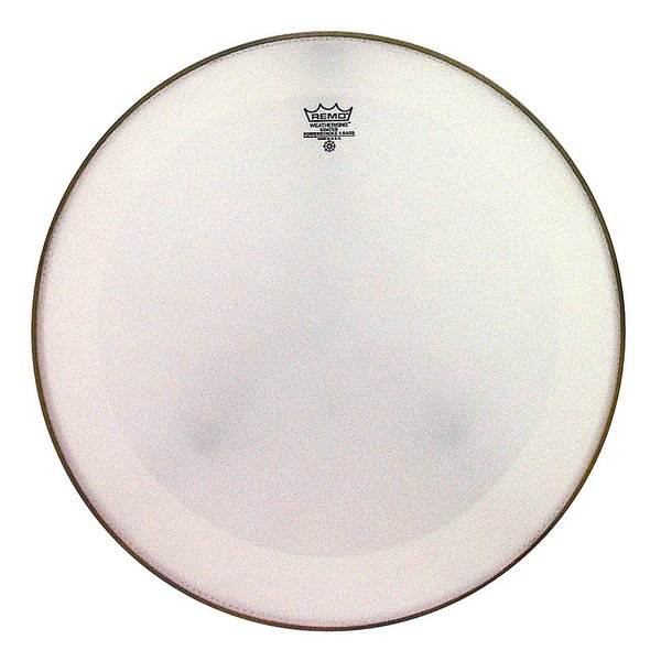 "Remo Remo Coated Powerstroke 4 - 24"" Diameter Bass Drumhead with Falam Patch"
