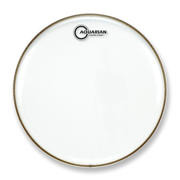 "Aquarian Aquarian Classic Clear Series 13"" Snare Bottom Drumhead"