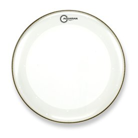 "Aquarian Aquarian Force I Series 16"" Bass Drum Batter Head and KP1 Drumhead - Clear"