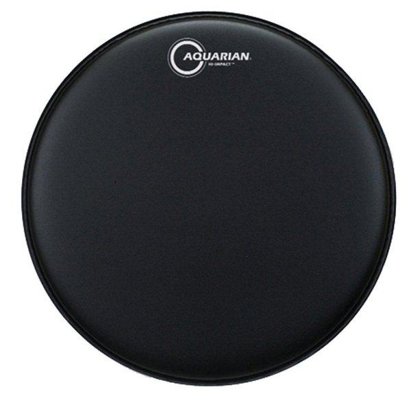 """Aquarian Aquarian Hi-Impact Series 14"""" Snare Drumhead - Black"""
