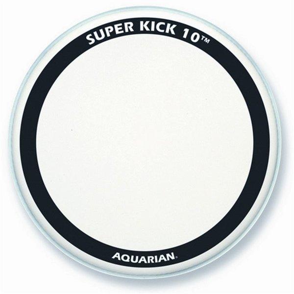 """Aquarian Aquarian Super-Kick II Series Texture Coated 22"""" Bass Drumhead"""