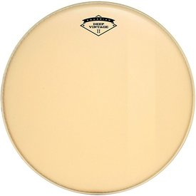 "Aquarian Aquarian Deep Vintage II 22"" Bass Drumhead with Felt Strip"