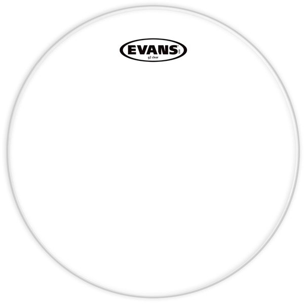 "Evans Evans Genera G2 Clear 20"" Bass Drumhead"