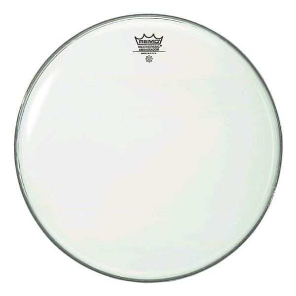 "Remo Remo Smooth White Ambassador 24"" Diameter Bass Drumhead"